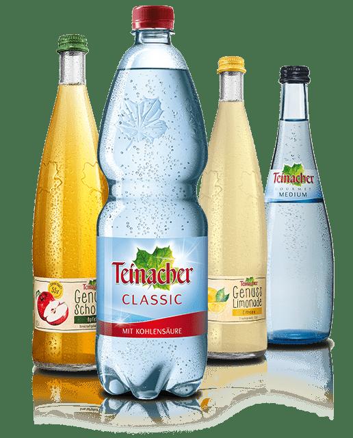 Teinacher Mineralwasser und Saftschorlen mit ausgezeichnetem ...